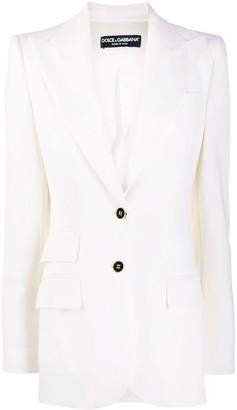 Dolce & Gabbana Double Flap Pocket Blazer
