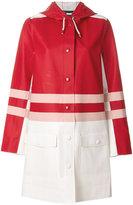 Marni x Stutterheim raincoat - women - Cotton/Polyester/PVC - L