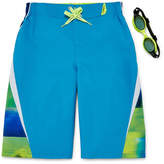 ZeroXposur Laser Stripe Swim Trunks - Boys 8-20