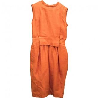 Sportmax \N Orange Wool Dress for Women