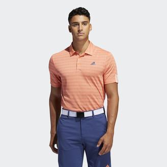 adidas 3-Stripes Jacquard Polo Shirt