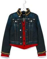 DSQUARED2 denim band jacket