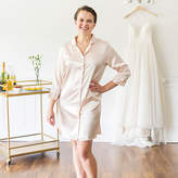 Cathy's Concepts CATHYS CONCEPTS Team Bride Satin Night Shirt