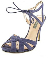 Sarah Jessica Parker Keating Open Toe Suede Sandals.