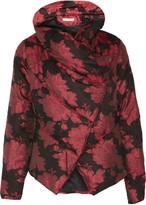 Alice + Olivia Wendell jacquard down coat