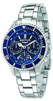 Sector No Limits 230 Men's Quartz Watch with Blue Dial Analogue Display and Silver Stainless Steel Strap R3253161009