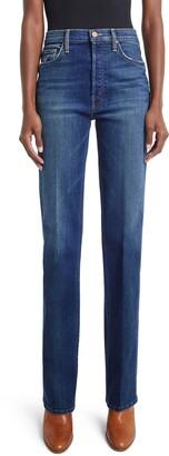 Mother The Tripper Sneak High Waist Bootcut Jeans