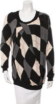 Altuzarra Argyle Wool Sweater