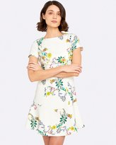 Oxford Charlotte Linen Floral Dress