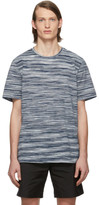 Missoni Blue and White Striped T-Shirt