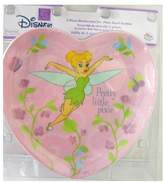 Zak Designs Disney Princess Tinker Bell Dinner set : 3 Pcs Heart Shape Dinnerware