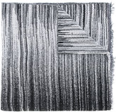 Oyuna striped scarf