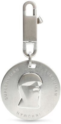 Rick Owens Silver-tone Keychain