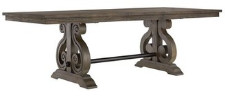 One Allium Wayâ® Parsons Extendable Dining Table One Allium WayA