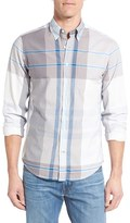 Gant Men's 'Telltail' Trim Fit Madras Plaid Sport Shirt