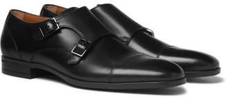 HUGO BOSS Kensington Leather Monk-Strap Shoes