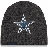 New Era Women's Black Dallas Cowboys Glitter Chic Knit Hat