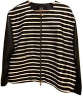 Armani Exchange Black Cotton Jacket for Women