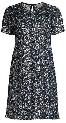 MICHAEL Michael Kors Elv Milfleur Sequin Dress