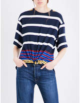 KENDALL + KYLIE Kendall & Kylie Striped jersey top
