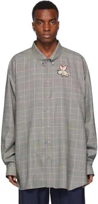 de66d938 Gucci Check Men's Shirts - ShopStyle