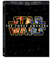 Star Wars The Force Awakens Blu-Ray/ DVD/Digital HD
