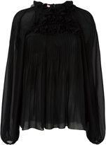 Giamba high neck blouse