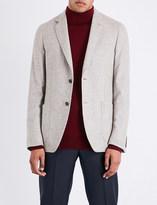 Richard James Regular-fit mottled bouclé jacket