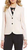 Calvin Klein Luxe Stretch Suiting Two-Button Jacket