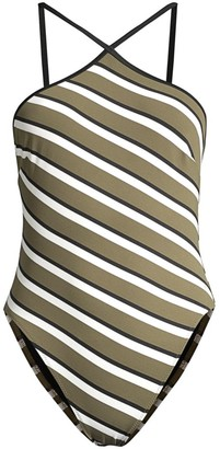 Solid And Striped The Sandra Striped One-Piece Swimsuit