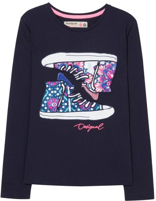 Desigual Girl's Ts_bambas T-Shirt