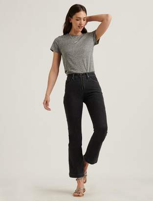 Lucky Brand High Rise Bridgette Crop Mini Boot Jean