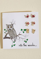 ModCloth Woodland if I Could Earring Set