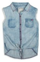 True Religion Toddler's, LIttle Girl's & Girl's Woven Knot Tie Vest