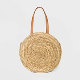 Universal Thread Circle Straw Tote Handbag - Universal ThreadTM Natural
