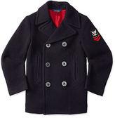 Ralph Lauren Wool-Blend Pea Coat
