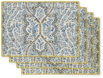 D'Ascoli Set-Of-Four Kashmir Placemats