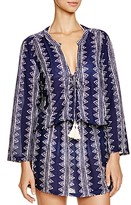 Cool Change Coolchange Stargaze Stripe Tunic Swim Cover-Up