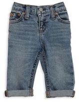 Ralph Lauren Baby's Distressed Rolled Jeans