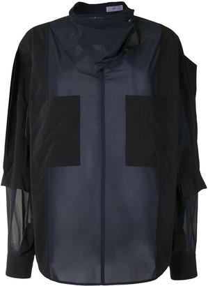 Toga Colour-Block Oversized Blouse