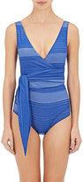 Lisa Marie Fernandez Women's Dree Louise Wrap One-Piece Swimsuit