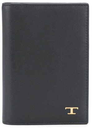 Tod's Logo Plaque Wallet