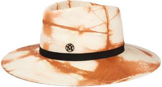 Maison Michel Charles Tie Dye Straw Hat