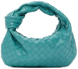 Bottega Veneta Blue Intrecciato Mini Jodie Bag