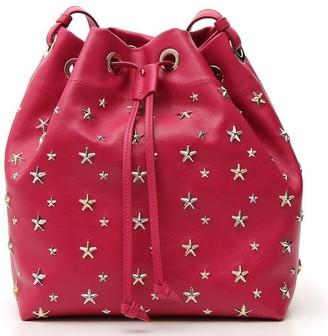 Jimmy Choo Juno Star Studded Bucket Bag