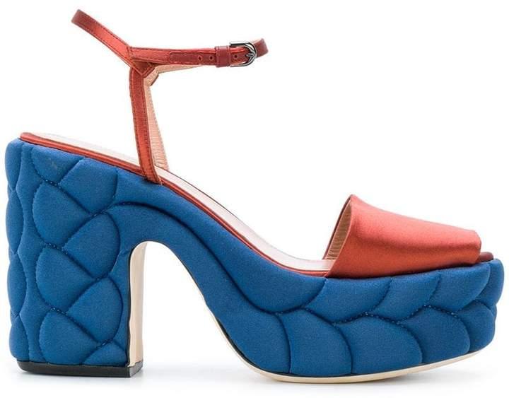Marco De Vincenzo quilted sandals