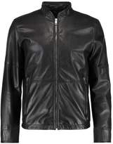 Strellson Arcad Leather Jacket Black