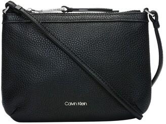 Calvin Klein Pebble Leather Crossbody Bag