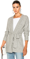 ATM Anthony Thomas Melillo Belted Cardigan in Gray.