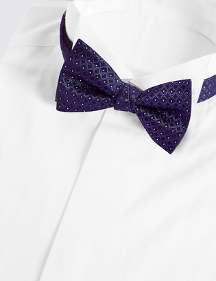 Marks and Spencer Geometric Bow Tie